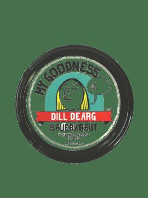 My Goodness Dill Dearg Sauerkraut 400g