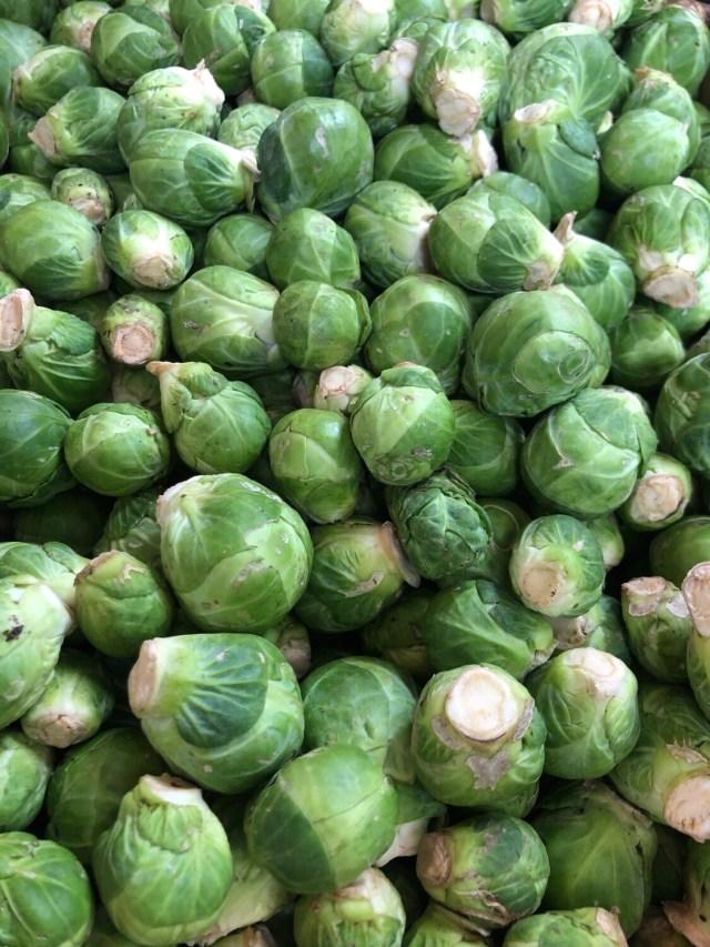Organic Irish Brussel Sprouts 100g