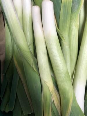 Organic Irish Leeks 100g