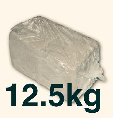 12.5kilos White Earthenware (1 bag)