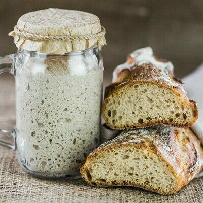 Let's make SOURDOUGH (LIEVITO MADRE) 3 SESSIONS to follow (JANUARY 3rd, 5th, 7th)