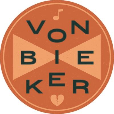 Sticker - Von Bieker - Retro Round