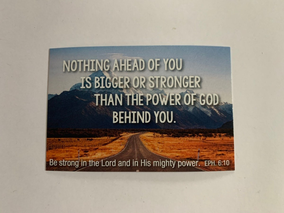 Pass It On - Nothing Ahead Eph. 6:10