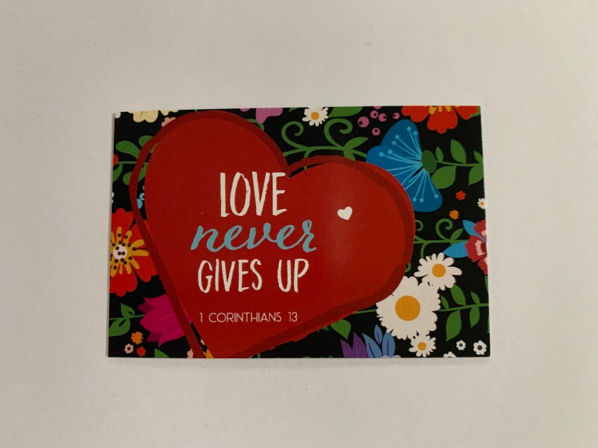 Pass It On - Love Never Gives Up