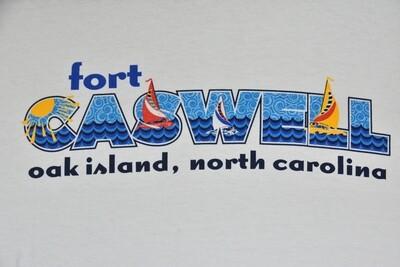 White Sailboat Caswell Shirt