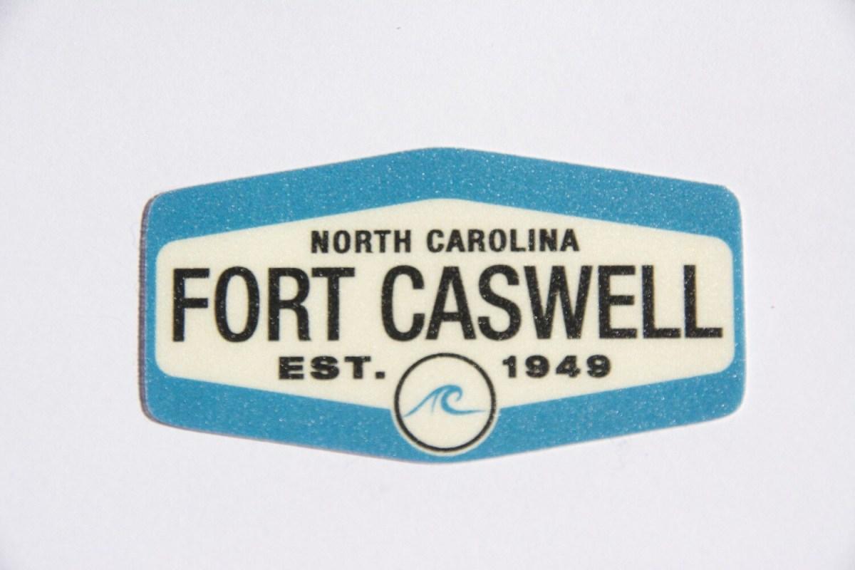Mini Fort Caswell Sticker