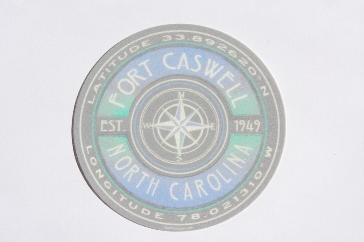 Reg Compass Sticker
