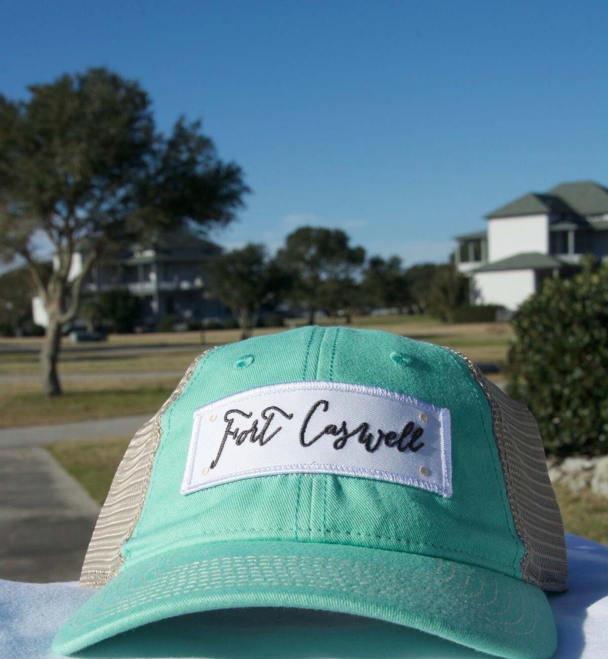 Fort Caswell Mint Green Hat