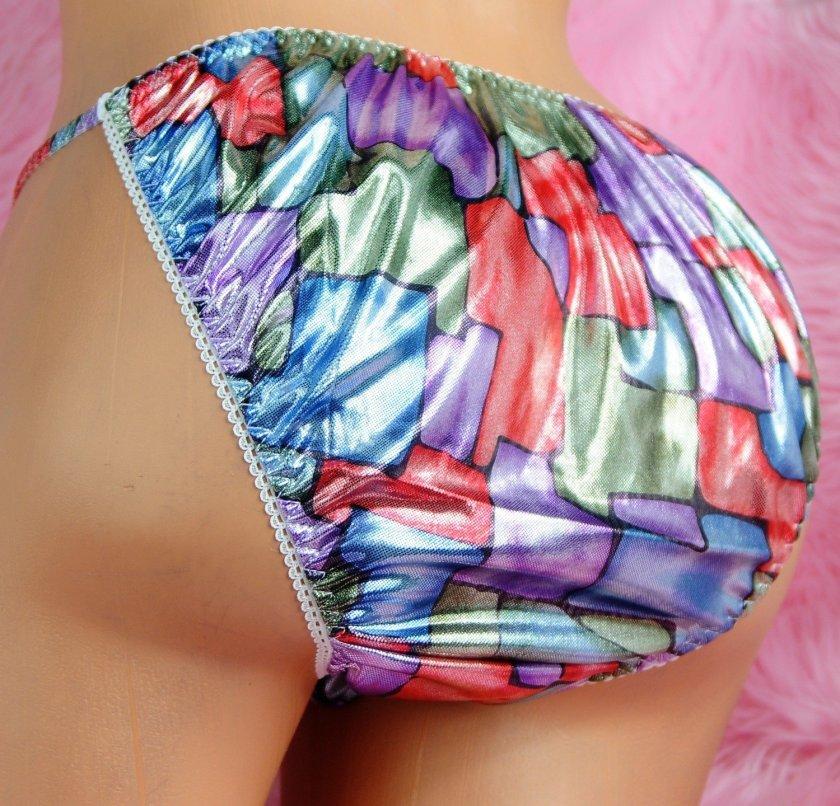 Ultra Rare Limited Edition MANties Out of stock fabrics mens foil string bikini panties M/L