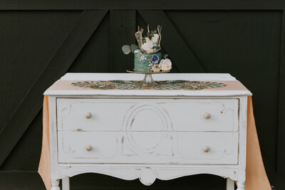 Antique Buffet Table- Phoebe