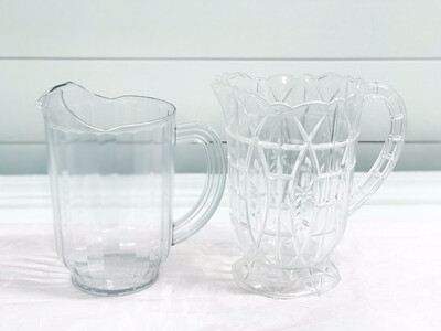 Plastic Glass Pitcher
