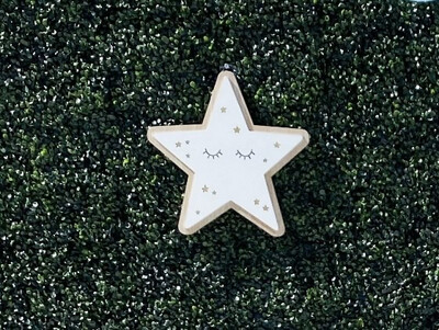 Wooden Star Sign