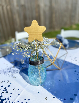 Light Blue Jar