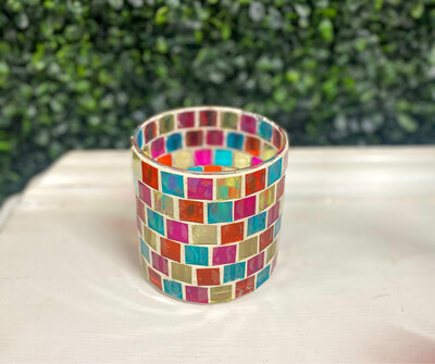 Multicolored Candle Holder
