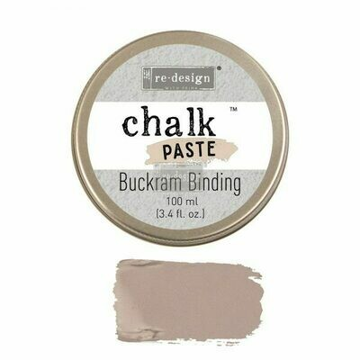Chalk Paste: Buckram Binding