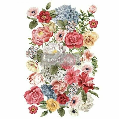 Prima Decor Transfer: Wondrous Floral II