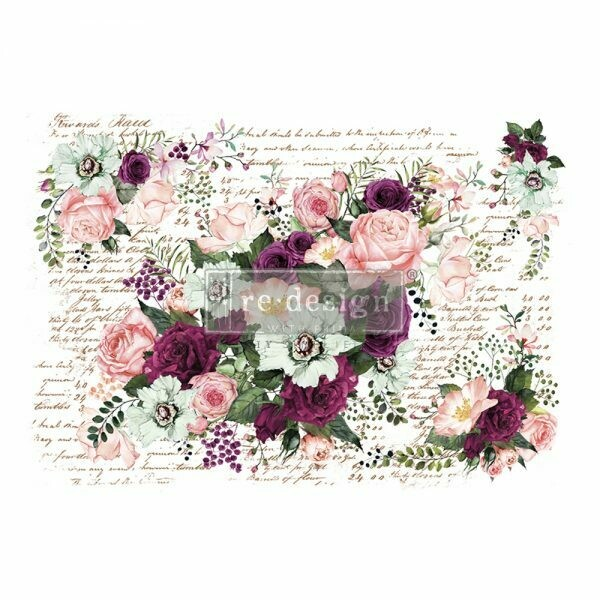 Prima Decor Transfer: Violet Hill