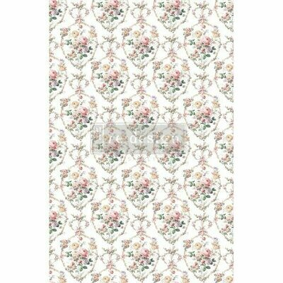 NEW! Prima Decor Transfer: Floral Court