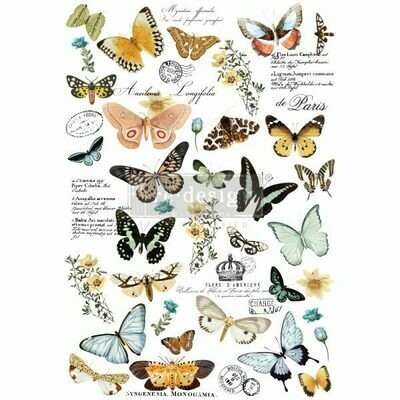 NEW! Prima Decor Transfer: Butterfly Dance