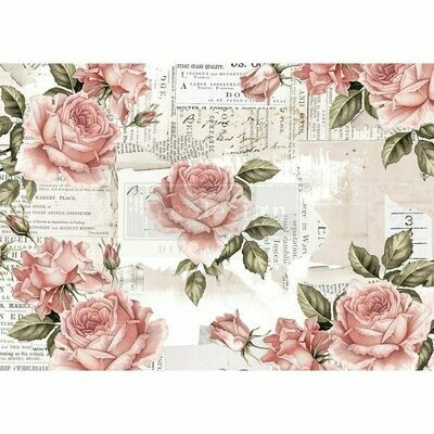 Rice Paper: Floral Sweetness