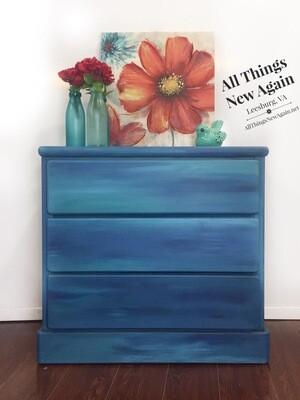 FURNITURE: Blended Blue Dresser