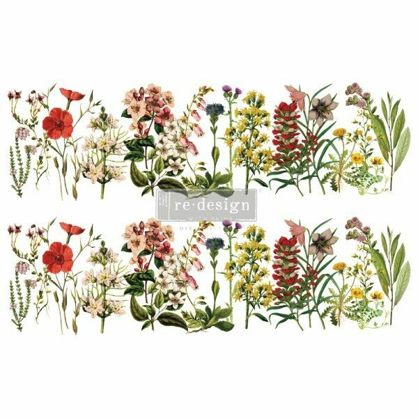 Prima Decor Transfer: The Flower Fields