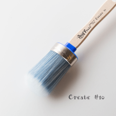 Paint Pixie Brush: Create #10 Oval Synthetic Paintbrush