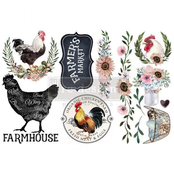 Small Decor Transfer: Morning Farmhouse