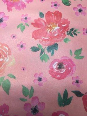 Decoupage Paper: Peach Bloom