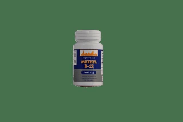 Methyl B-12  2000 mcg