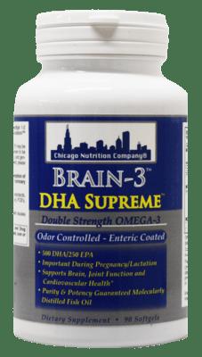 Brain - 3 DHA Supreme