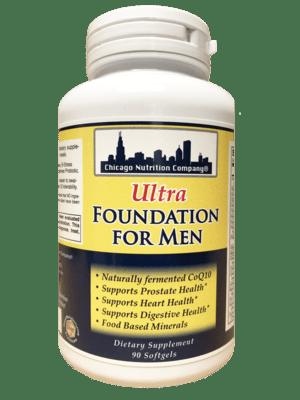 Ultra Foundation for Men - 90 Softgels