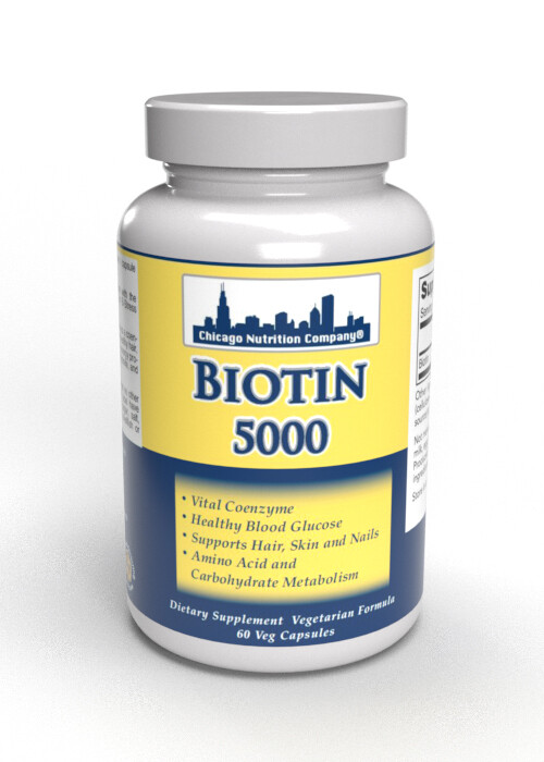 Biotin 5000 - 60 Veg Caps