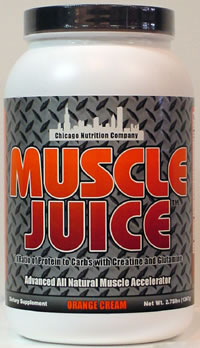 Muscle Juice - Orange Cream