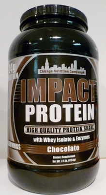 Impact Protein - Chocolate - 2.5 lbs.