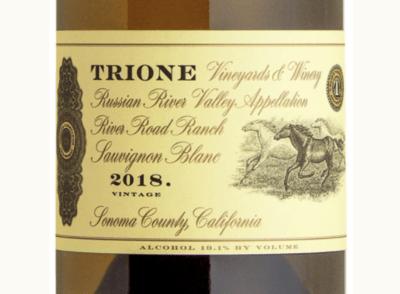 Trione Sauvignon Blanc (Creamery)