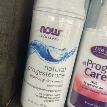 Progesterone Cream Unscented 3oz