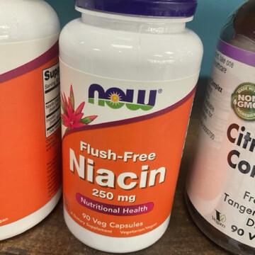 Flush Free Niacin 250mg (90 Vegicaps)