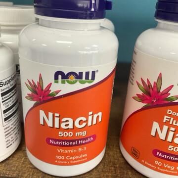 Niacin 500mg Caps (100 Caps)
