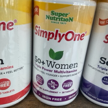 SimplyOne 50+ Women 30ct