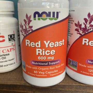 Red Yeast Rice 600mg (60 Vegicaps)