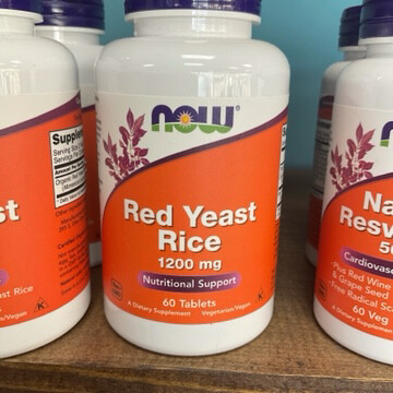 Red Yeast Rice 1200mg (60 Tabs)