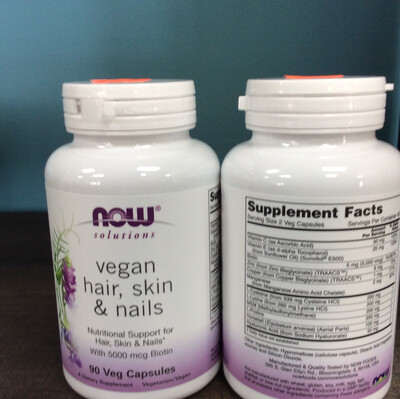 Vegan Hair, Skin, & Nails 90ct
