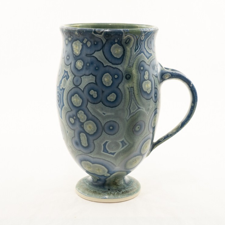 Crystalline Glaze Latte Mug By Andy Boswell ABM2011102