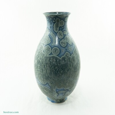 Crystalline Glaze Vase by Andy Boswell #ABV2012002
