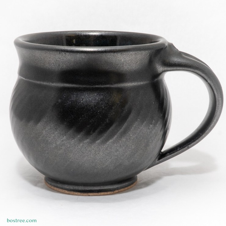 Stoneware Mug by Andy Boswell #cadilac black
