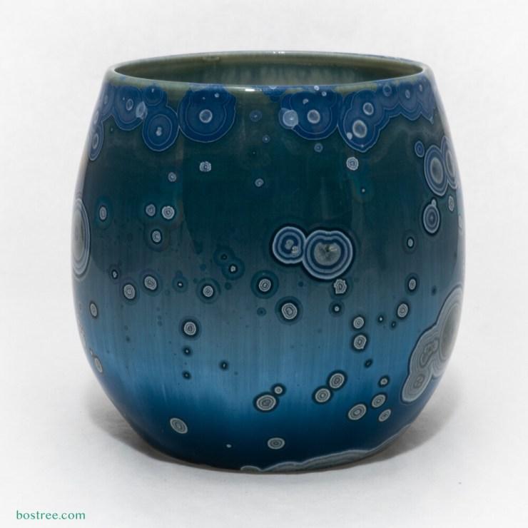 Crystalline Glaze Tumbler 10oz by Andy Boswell - Slightly Irregular