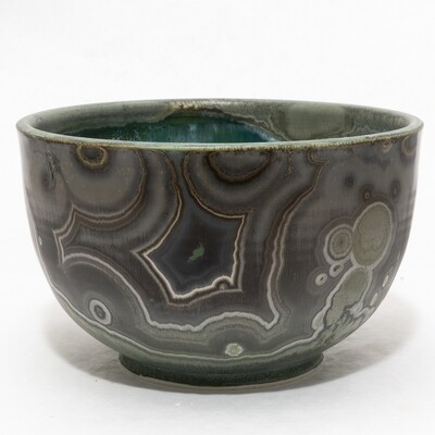 Crystalline Glaze Bowl by Andrew Boswell 01178