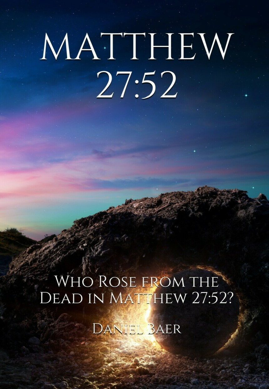 MATTHEW 27:52 Book and CD Set