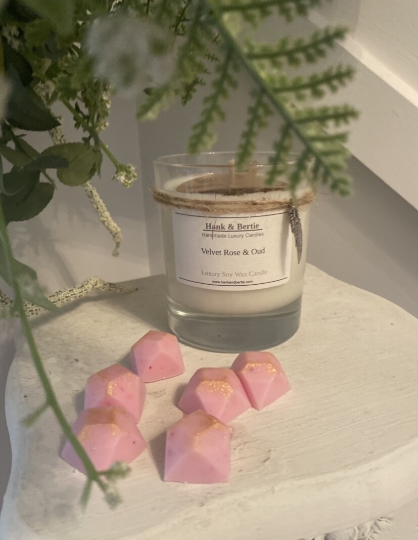 Velvet Rose & Oud 30cl Candle